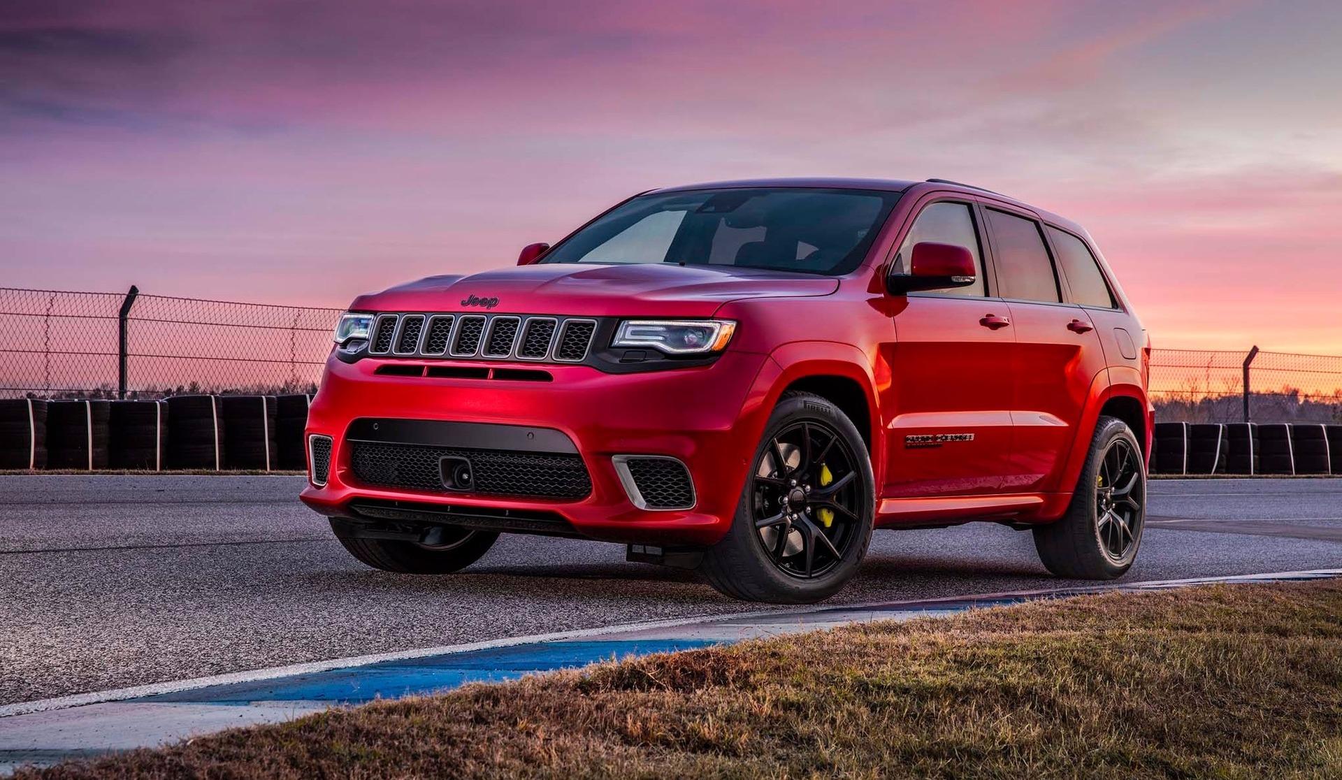 Le Grand Cherokee Trackhawk 2018: un monstre