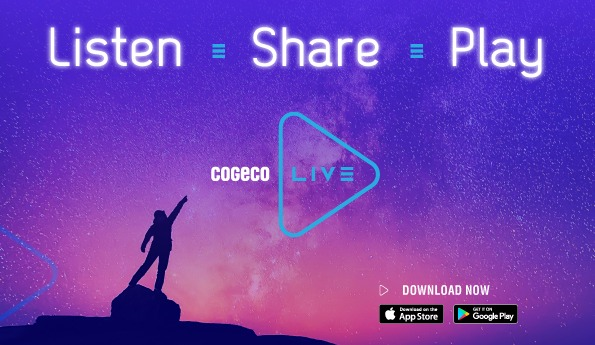 Cogeco Live: A New Way to Experience Radio!