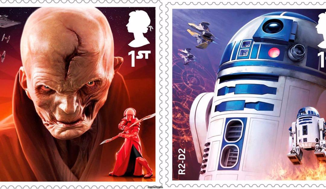 Des timbres de Star Wars !