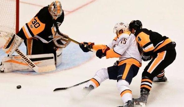 Les Penguins lessivent les Predators