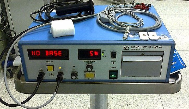 Cinq traitements d'électrochocs auraient été utilisés sur des enfants