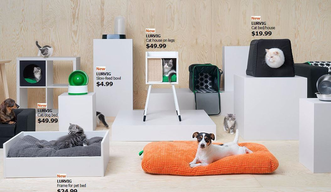 IKEA now has Pet Furniture and Life is Complete