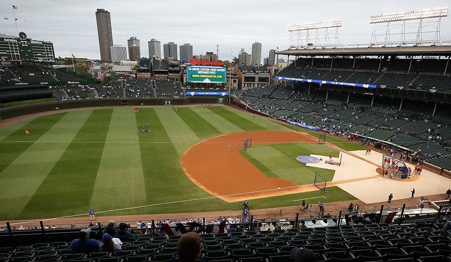 Nationals-Cubs: la pluie mène au report du 4e match
