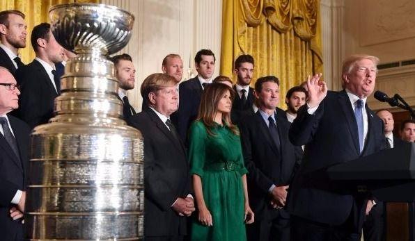 Les Penguins de retour à la Maison-Blanche