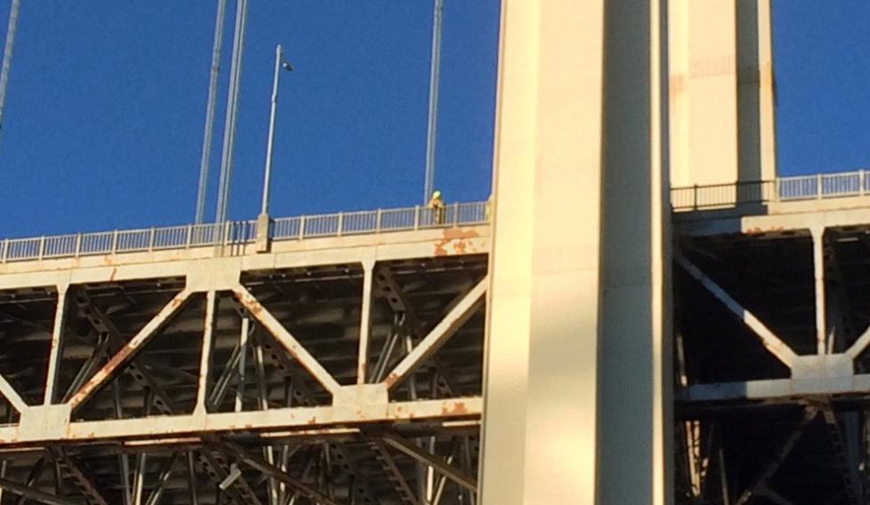 Congestion sur le pont Pierre-Laporte : Un homme serait en crise