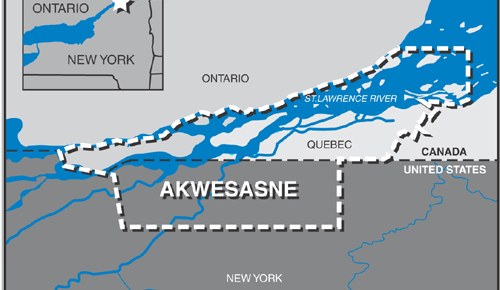 «C'est pour les honnêtes citoyens d'Akwesasne»