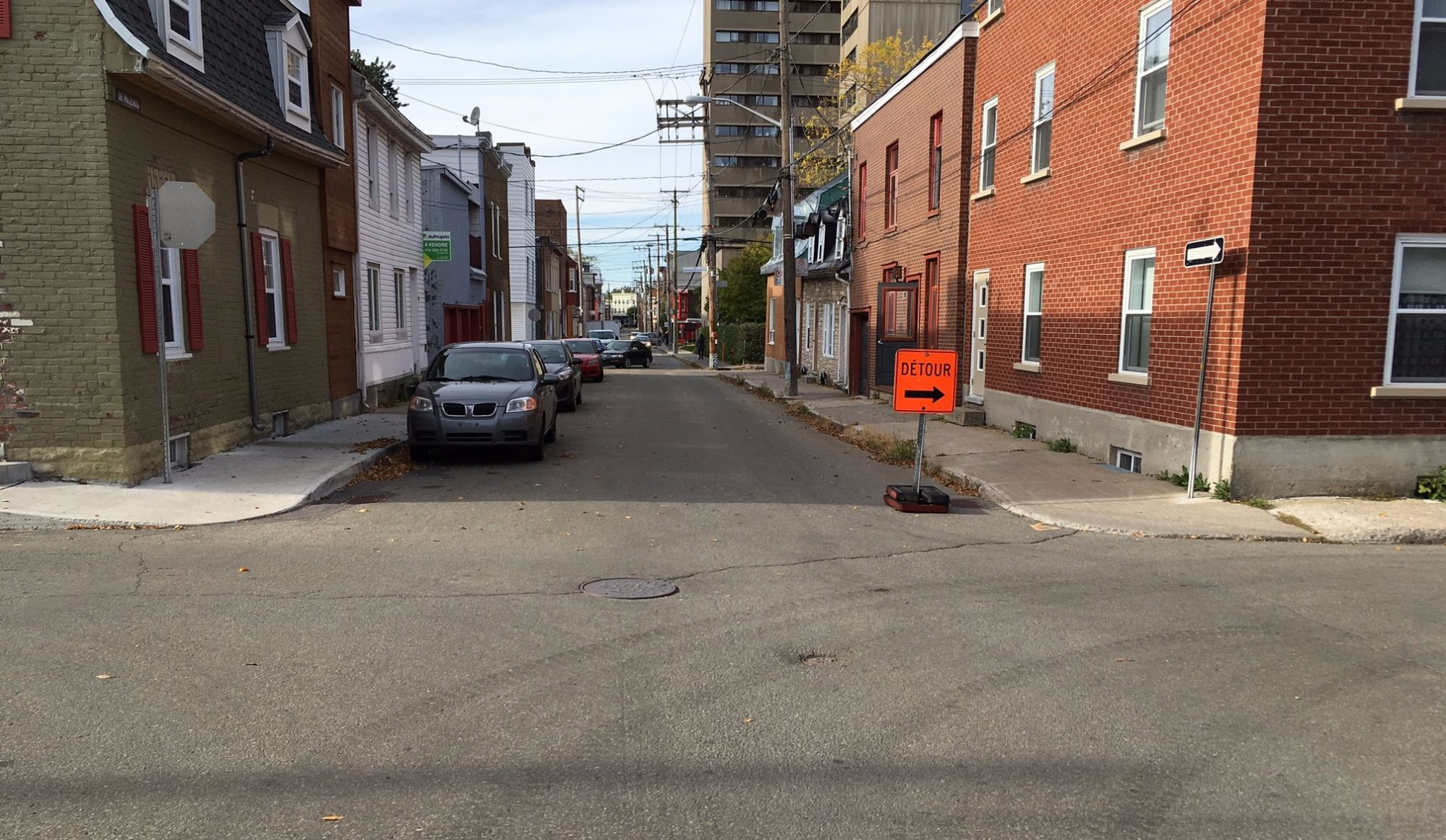 Une signalisation inadéquate cause deux accidents dans St-Sauveur