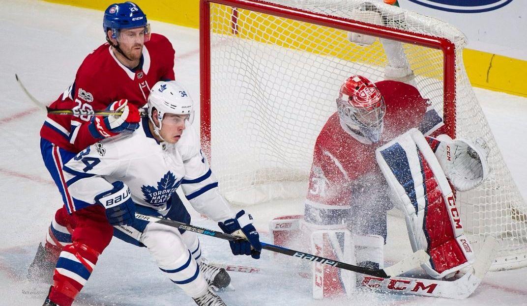Maple Leafs @ Canadiens — Jeu des chiffres
