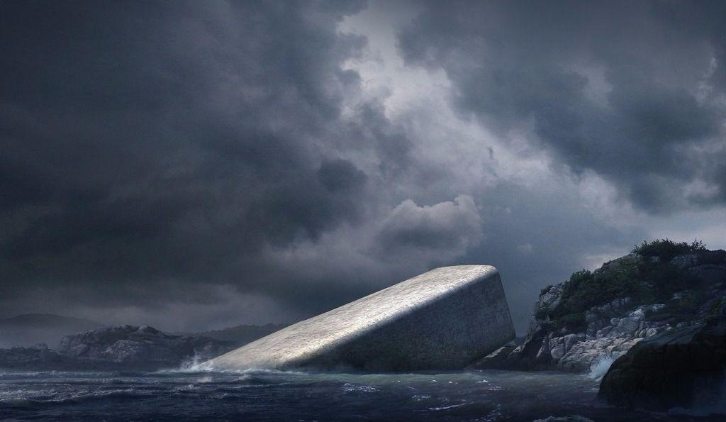 Un restaurant sous-marin (presque)