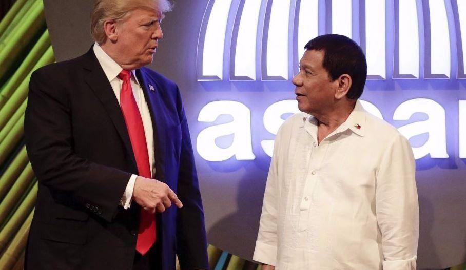 Trump louange le controversé président des Philippines