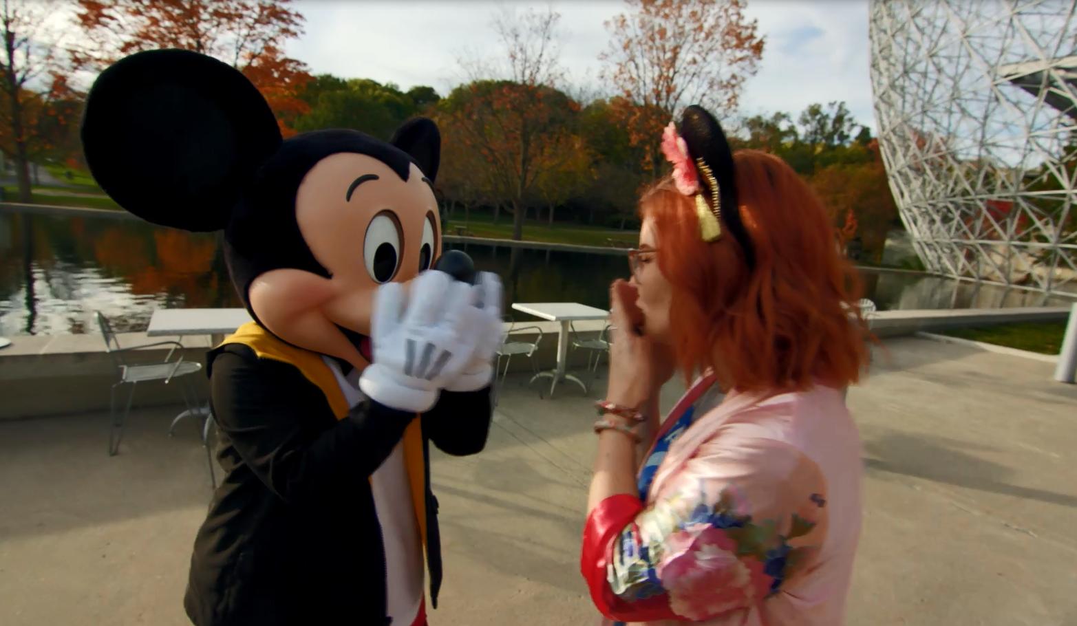 Mickey choisit une Québécoise pour célébrer son anniversaire!