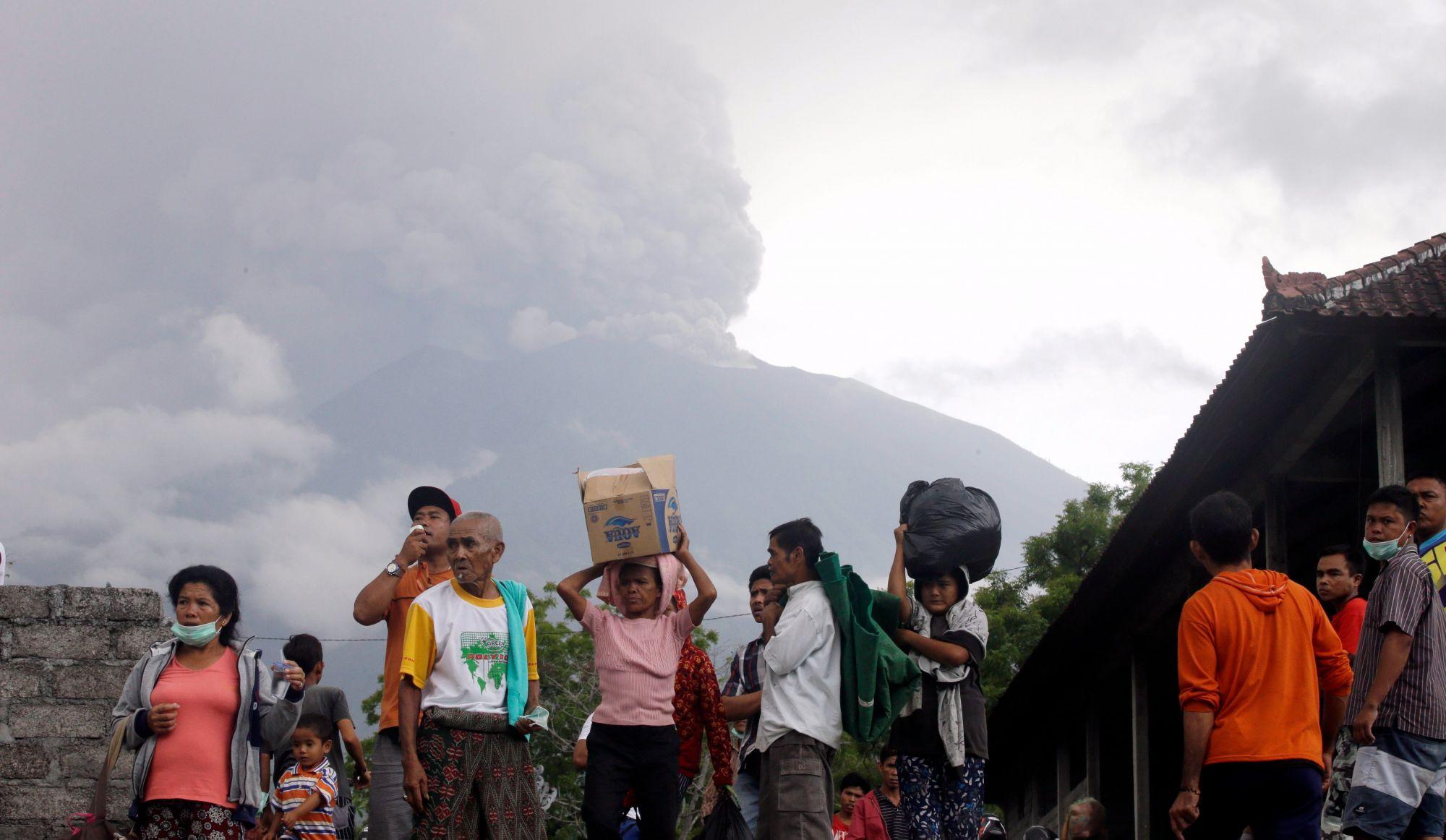 Virgin Australia : L'éruption du volcan Agung à Bali s'intensifie