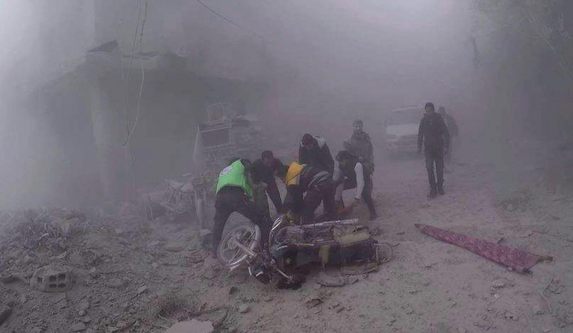 Au moins 18 morts dans de nouveaux bombardements sur la Ghouta — Syrie