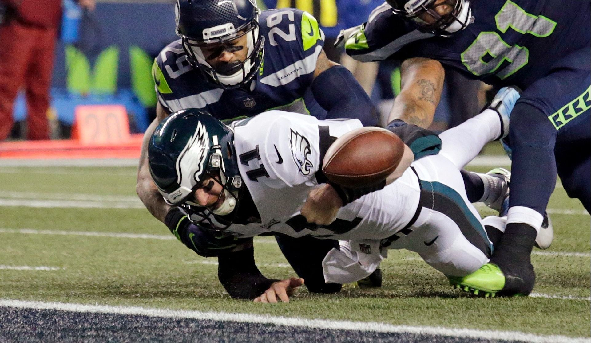 Rare défaite des Eagles (vidéo)