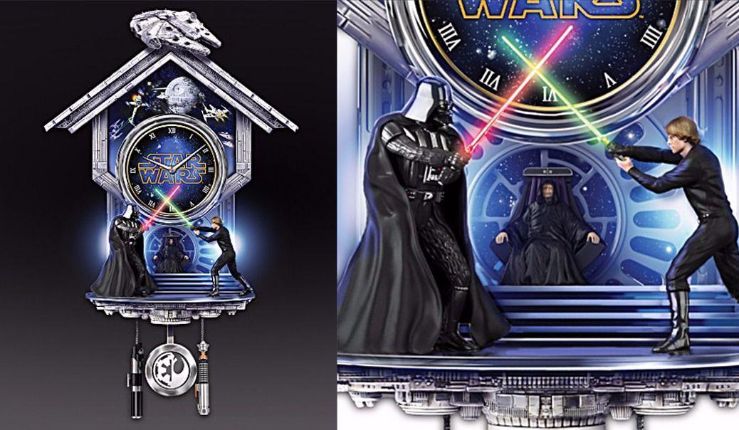 Tu vas la vouloir: l'horloge Sith vs Jedi
