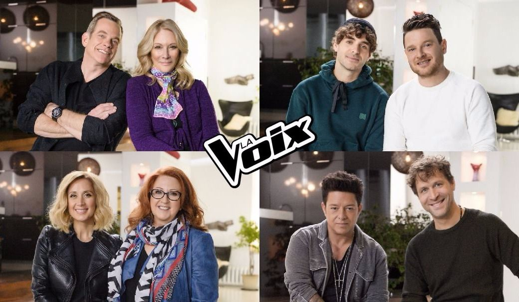 Voici les nouveaux mentors de La Voix 6