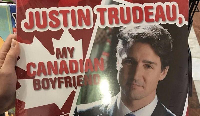 Un calendrier sur Justin Trudeau fait le buzz