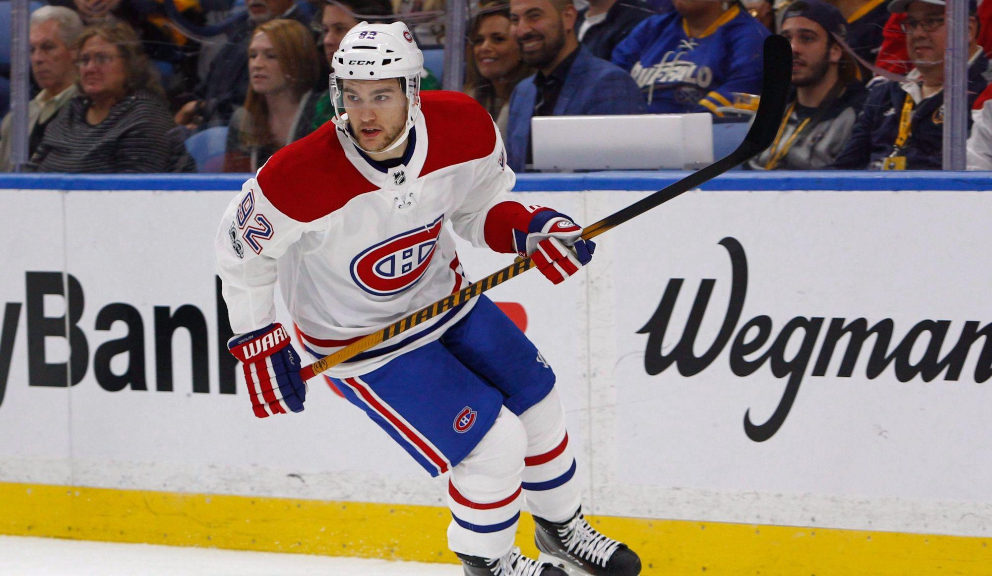 Entraînement des Canadiens : Jonathan Drouin et Jeff Petry absents