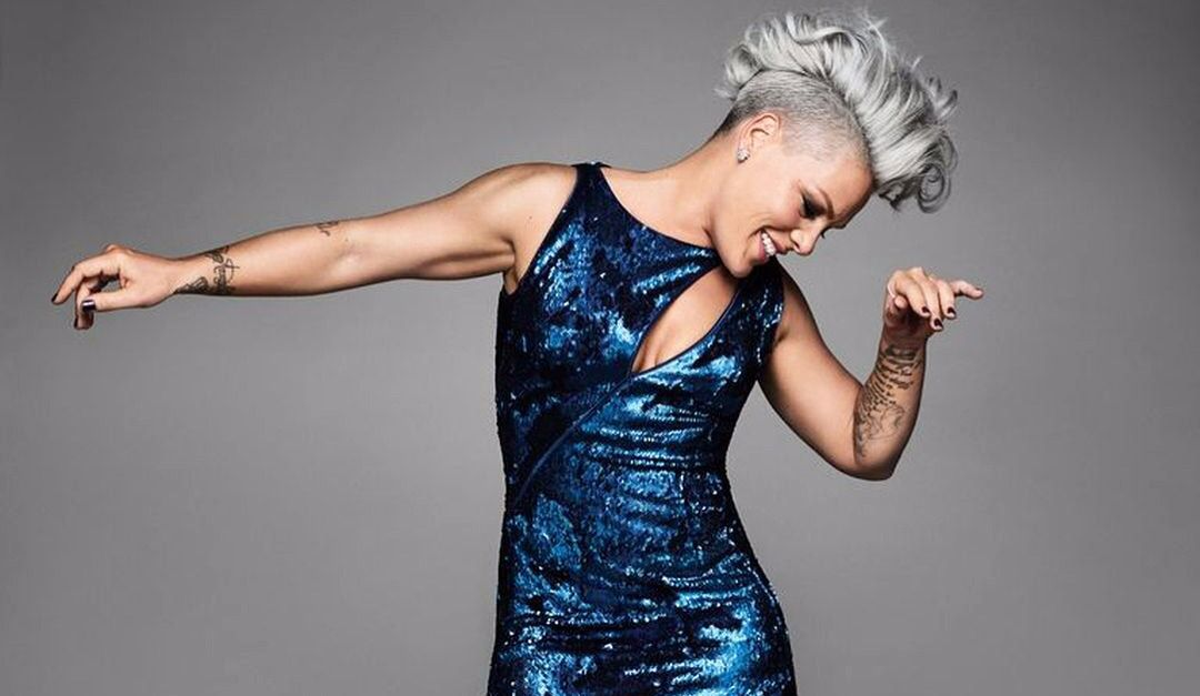 "See P!nk on the Cover of ""Cosmo"""