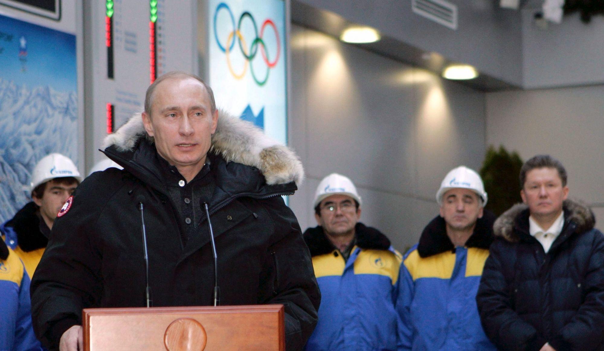 Poutine n'empêchera pas les athlètes russes de participer aux Jeux olympiques