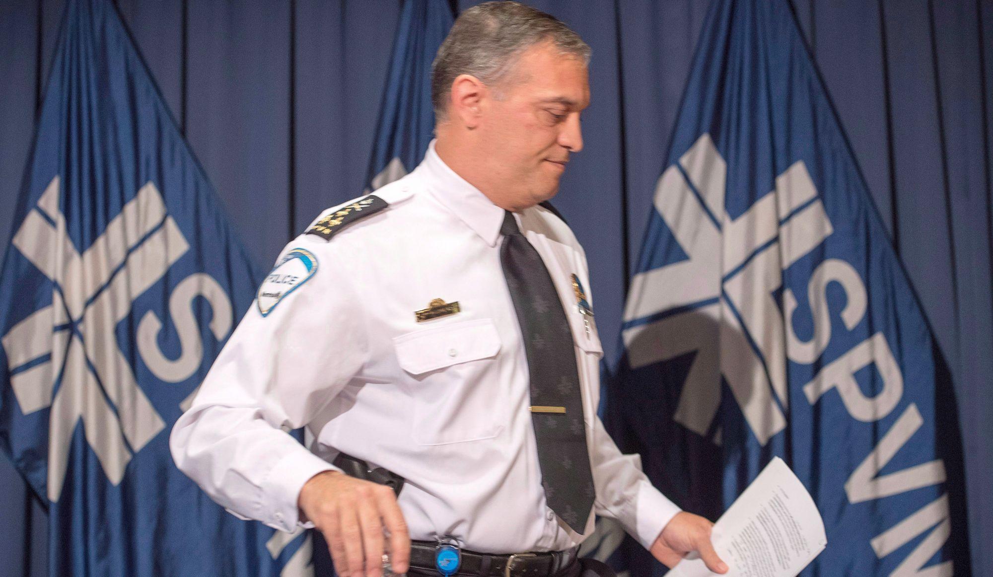 SPVM: Pichet suspendu et remplacé par le DG de la SQ