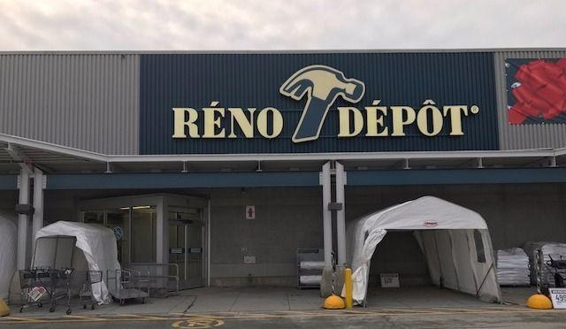 Réno-Dépôt inaugure son magasin de Sherbrooke