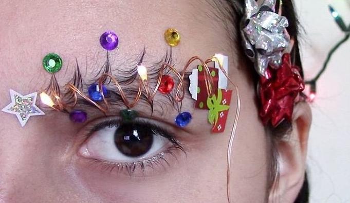 Essayerez-vous ça? Les décorations de sourcils.