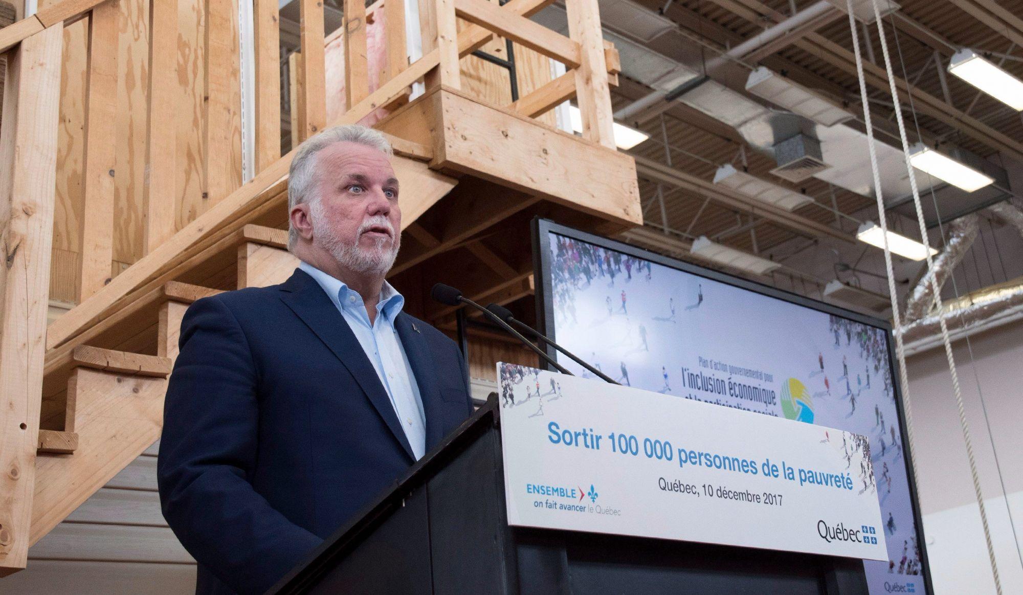 Québec investit 3 milliards $ pour lutter contre la pauvreté