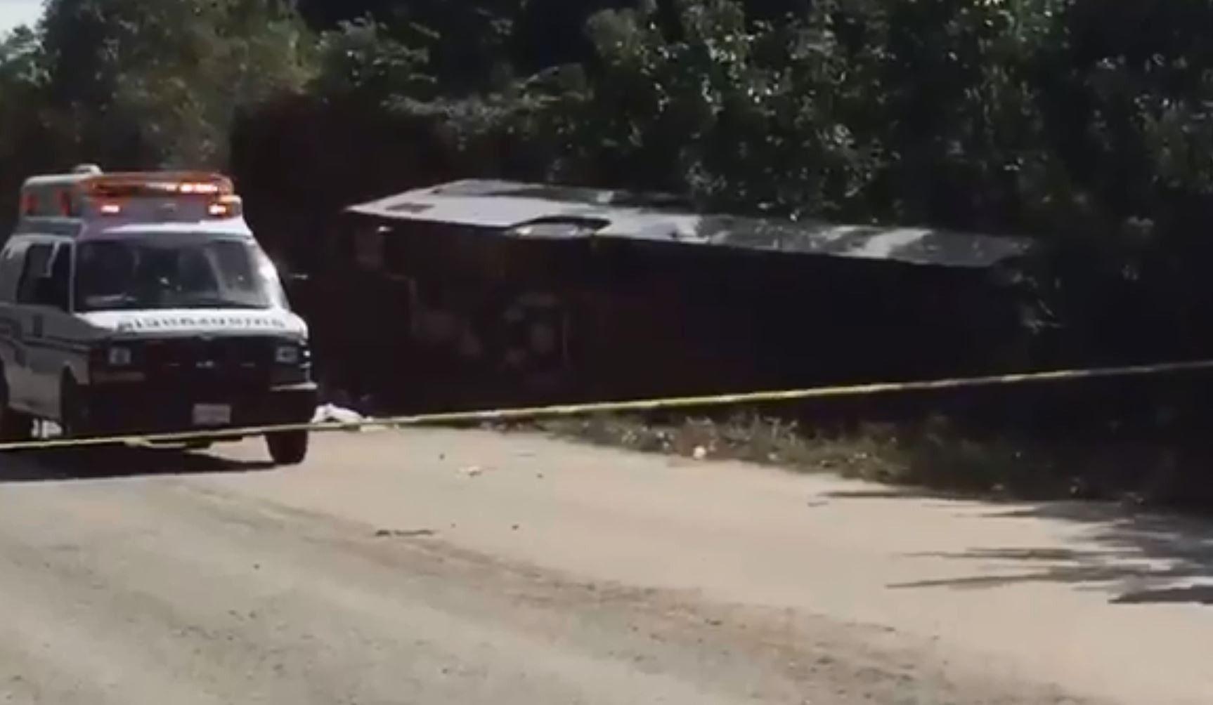 11 touristes, dont plusieurs étrangers, tués dans un accident de car — Mexique