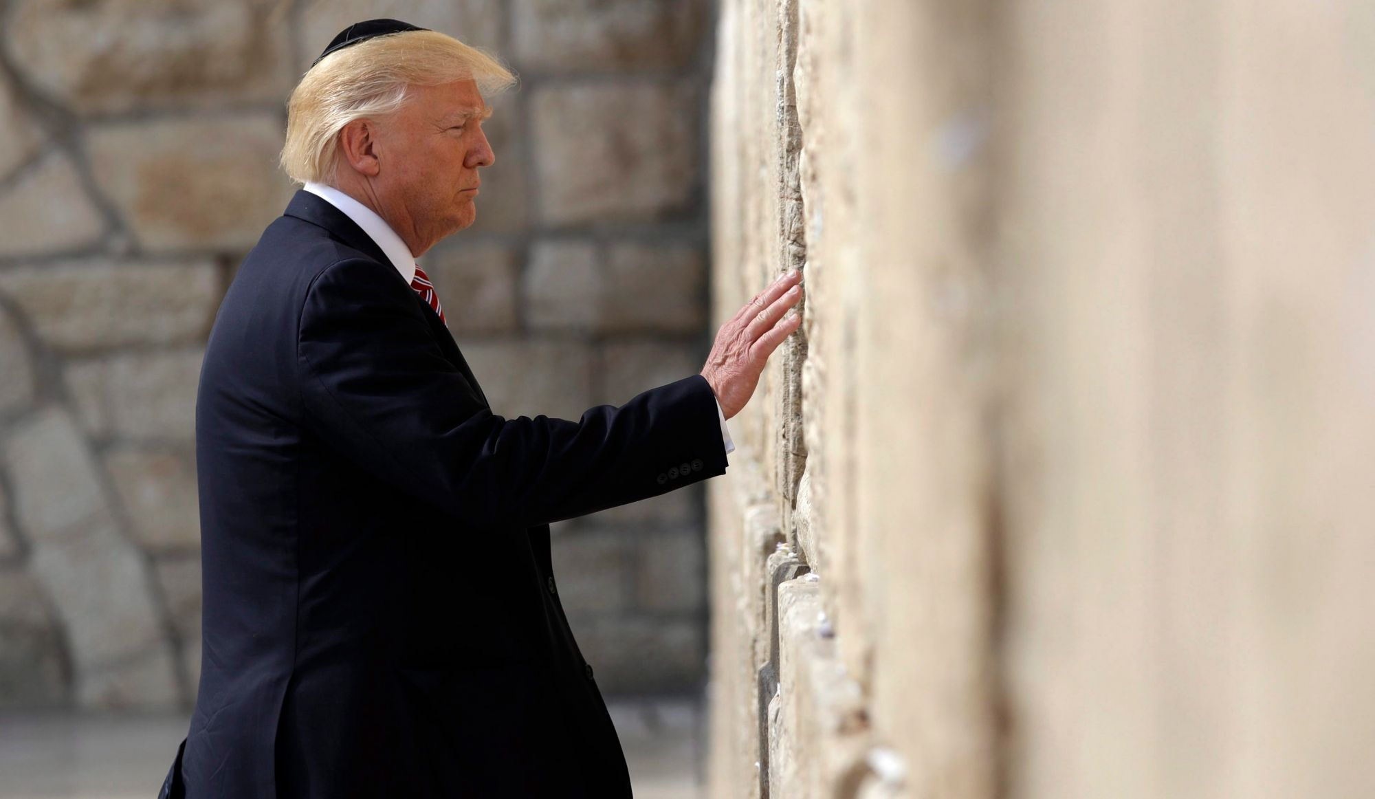 Pour le Kotel, descendez à la station Donald Trump