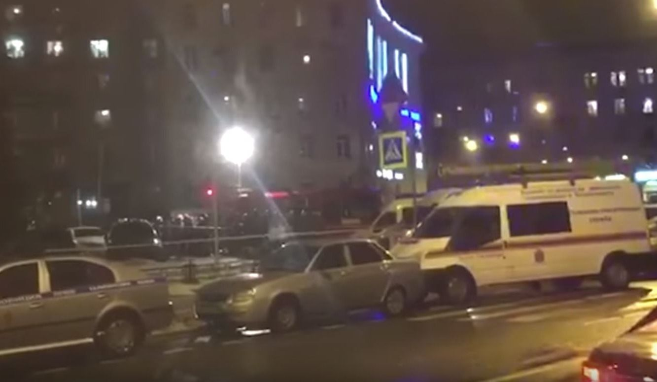 Explosion dans un supermarché de Saint-Pétersbourg, plusieurs blessés