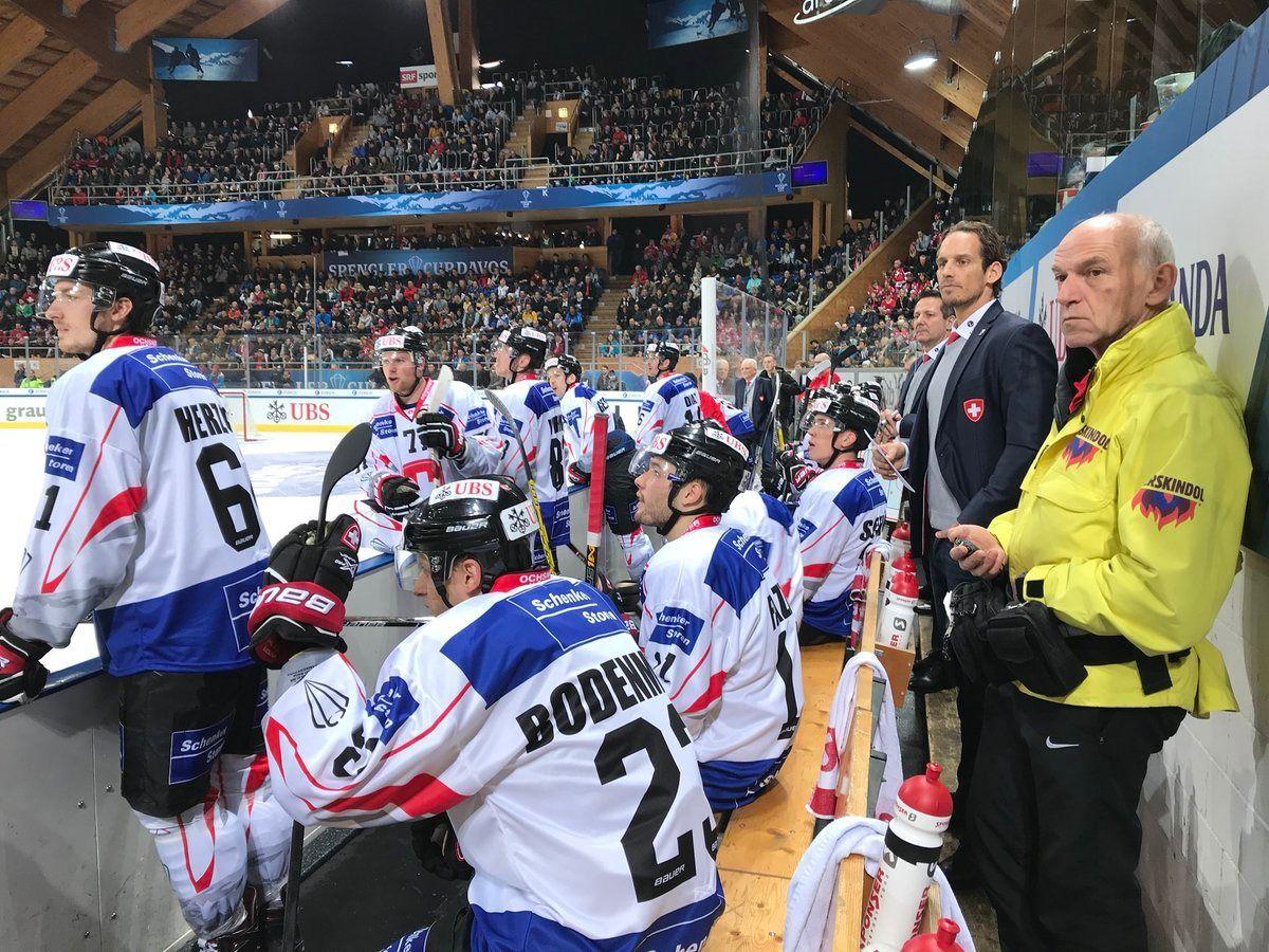 Le Canada en finale de la Coupe Spengler