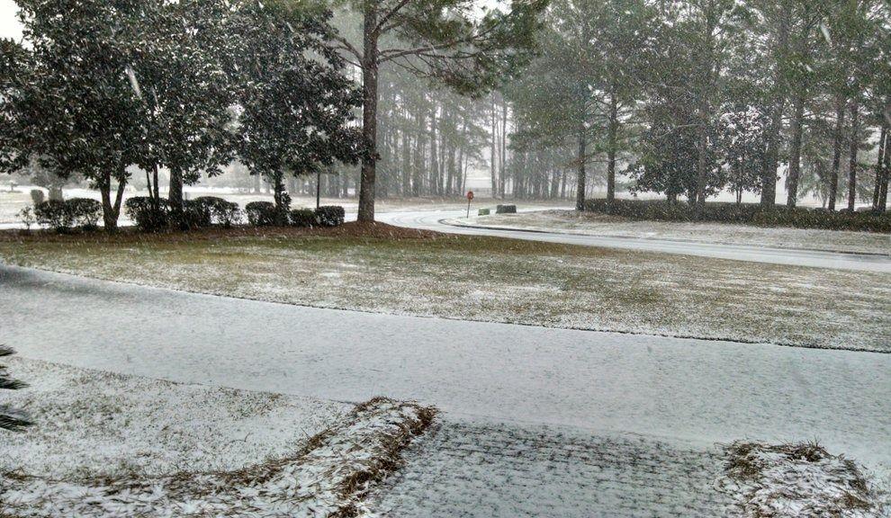 Il a neigé sur la Floride et la Géorgie (vidéos)