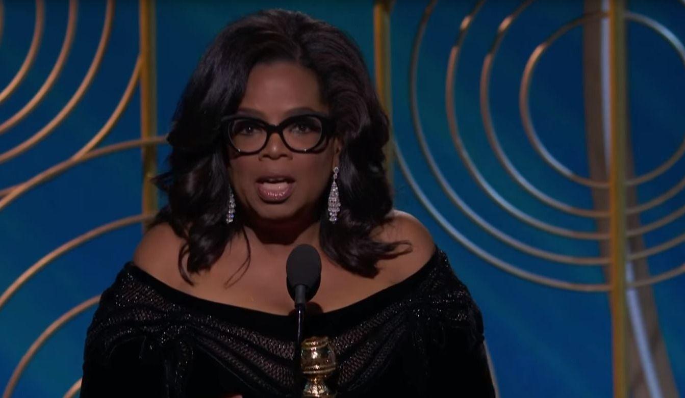 Black Dresses, Oprah's Speech & More from the 2018 Golden Globes