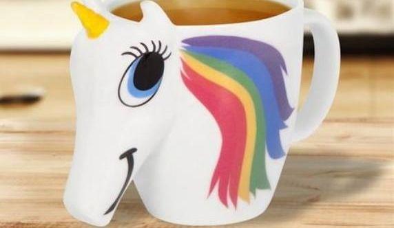 La tasse licorne qui change de couleur!