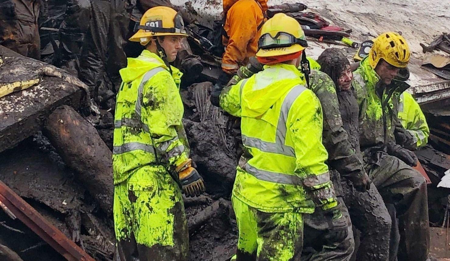 Coulées de boue en Californie: 13 morts, 25 blessés (vidéos)