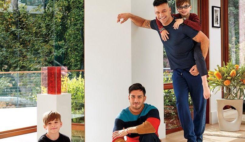 La superbe résidence de Ricky Martin