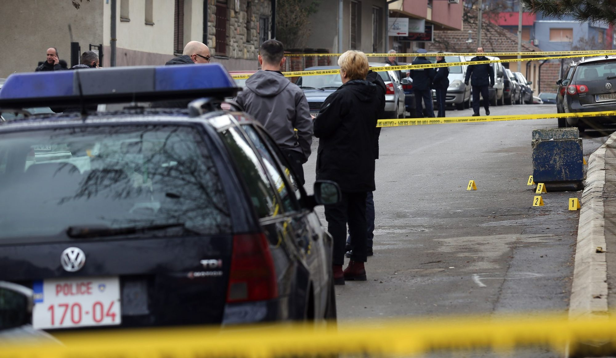 Le leader serbe Ivanovic assassiné — Kosovo