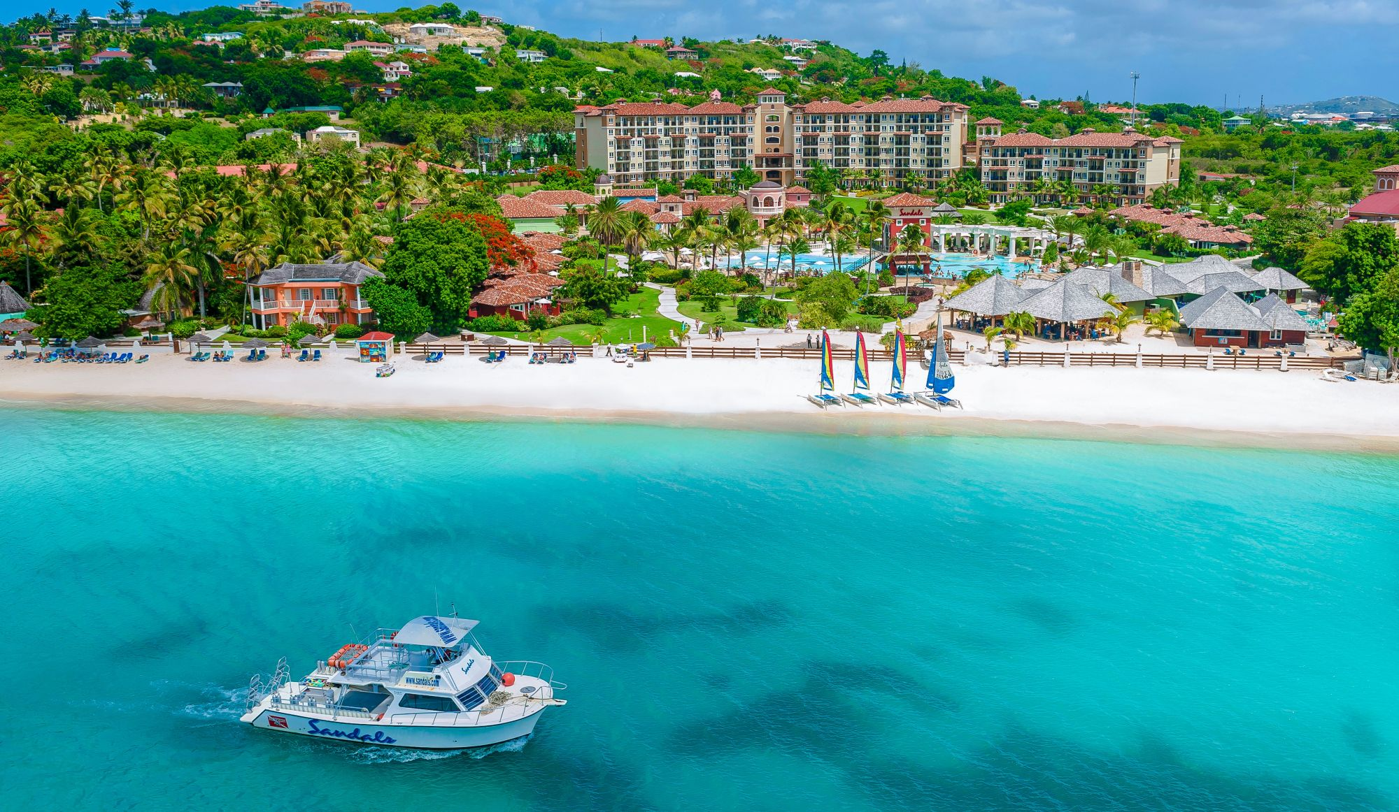 Why take a trip to Sandals Grande Antigua Resort & Spa Nikki and Cat Spencer tell you why