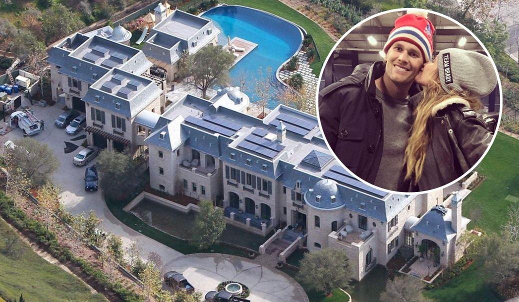 La maison de Los Angeles de Tom Brady et Gisele Bündchen