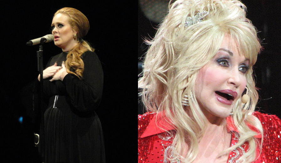 Dolly Parton 'honored' by Adele's costume tribute