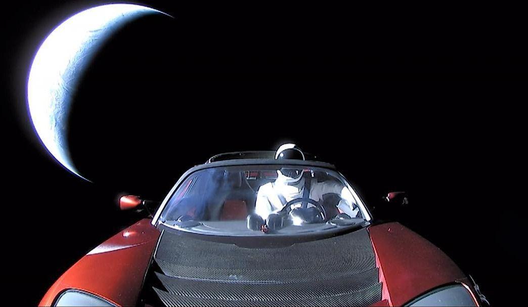 Elon Musk a publié cette image sur Instagram