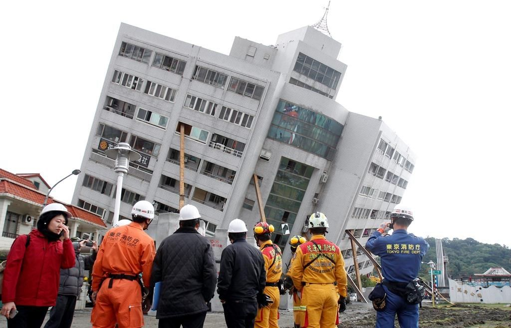 Taïwan: le séisme a fait douze morts et 272 blessés