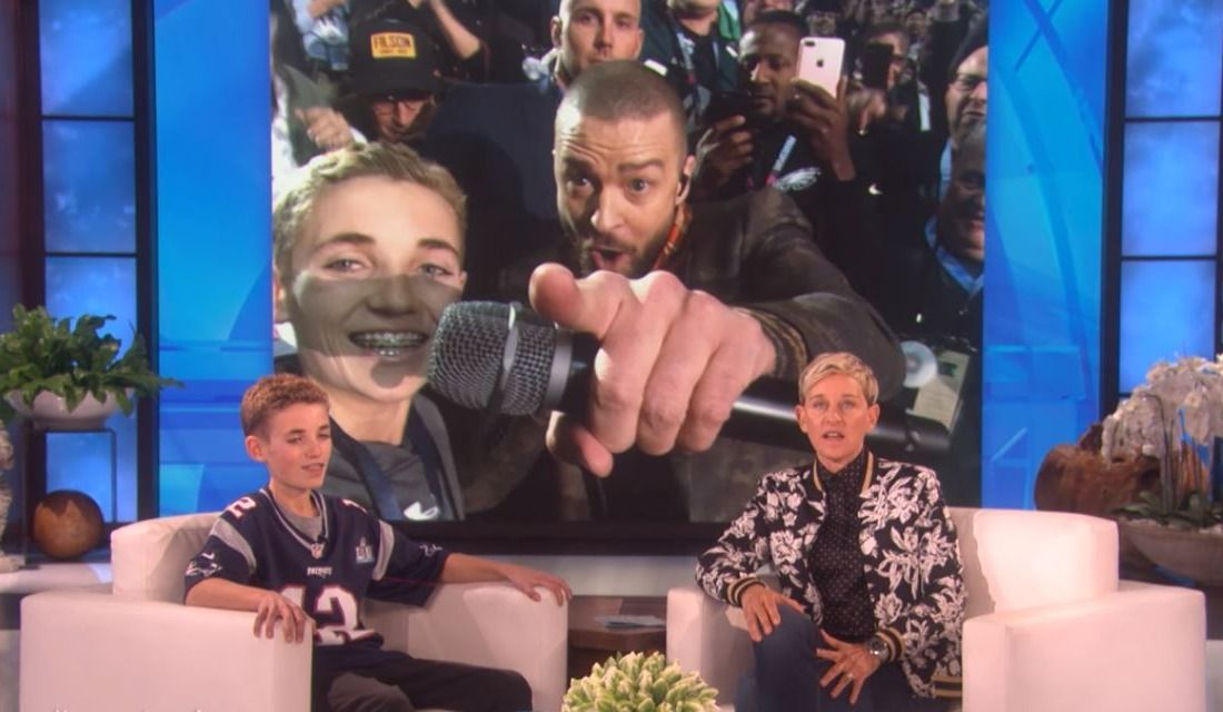 Justin Timberlake reduces 'SelfieKid' to tears with surprise phone call and show tickets