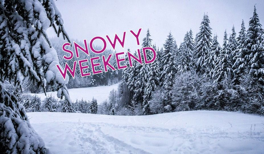 Another Snowy Weekend Heading for MTL