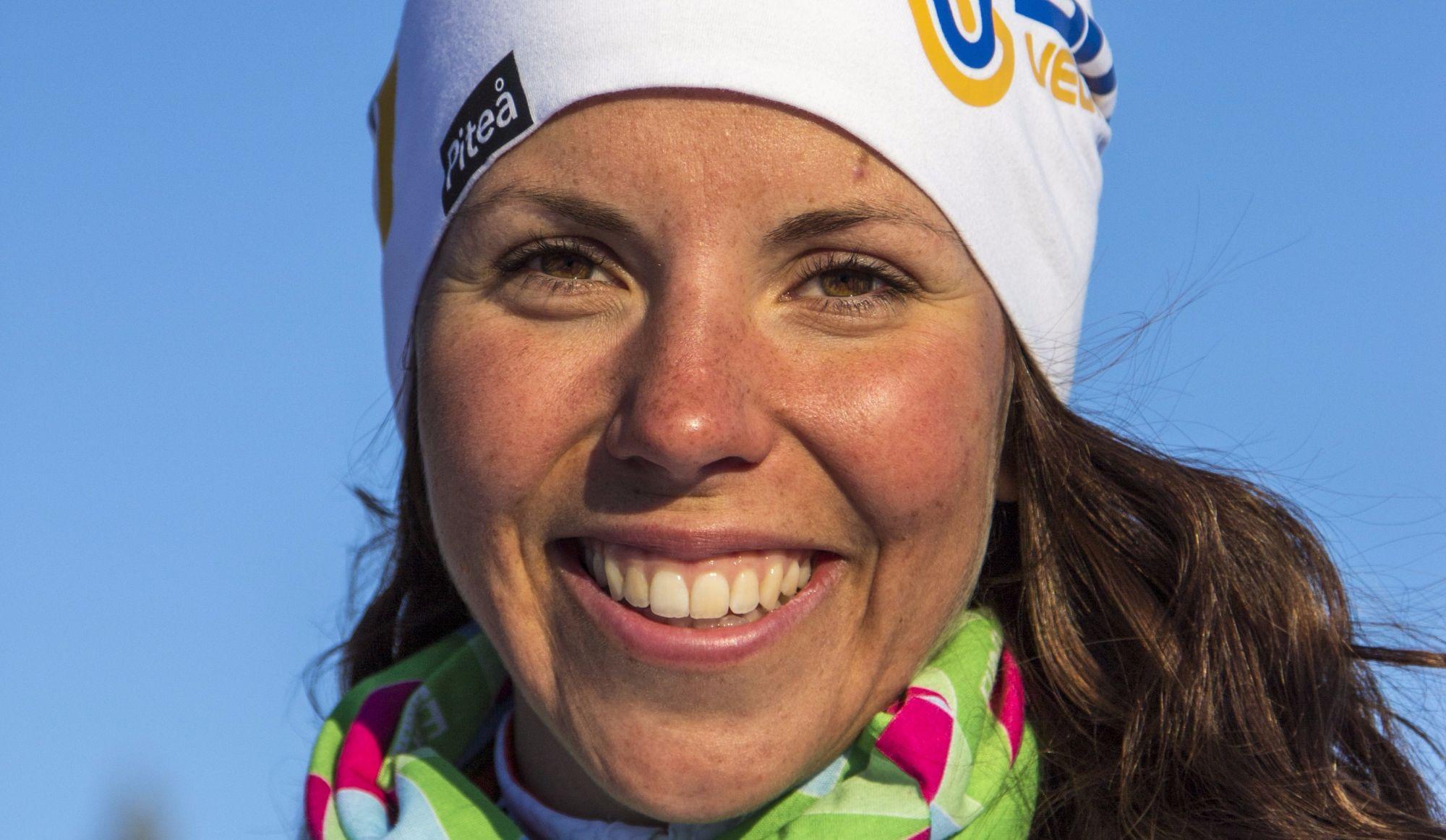 Charlotte Kalla s'adjuge la première médaille d'or des Jeux de Pyeongchang