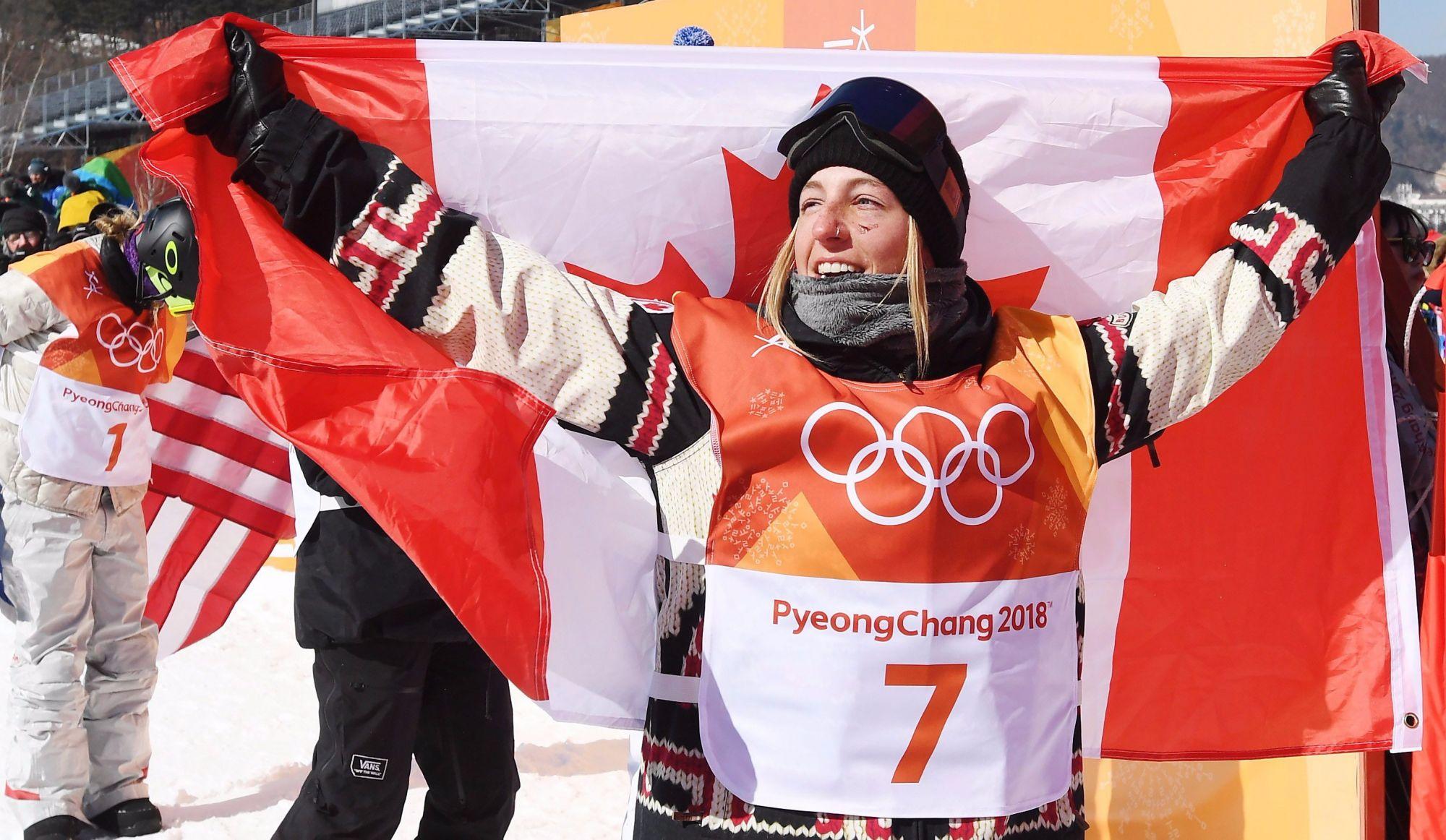 Laurie Blouin remporte l'argent en slopestyle