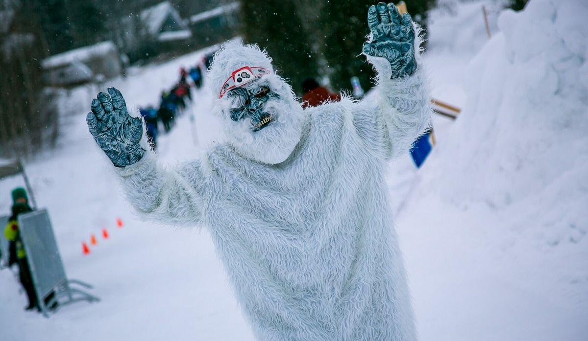 La course hivernale a la cote à Saint-Mathieu-du-Parc