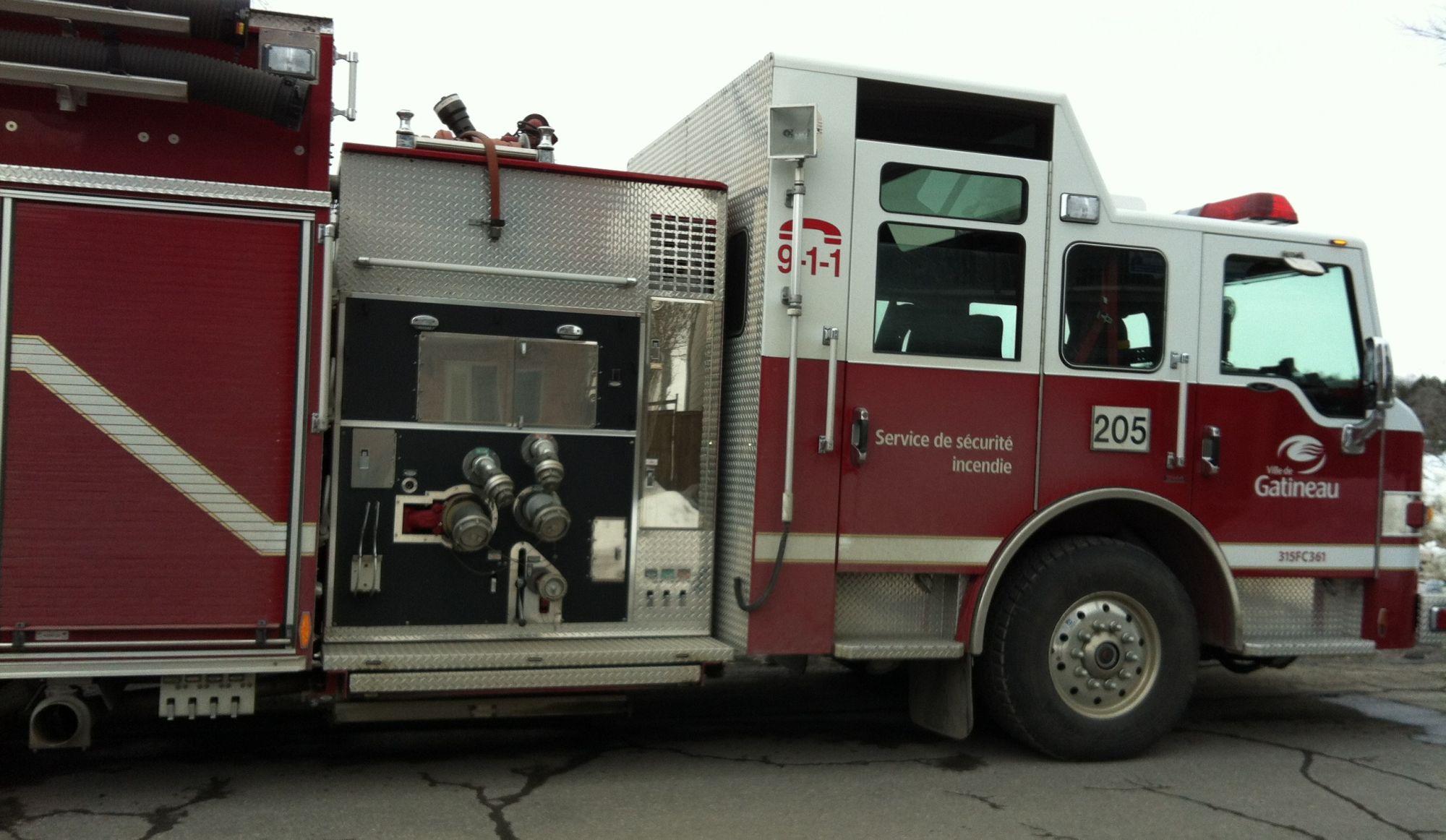Un CPE évacué en raison d'un incendie