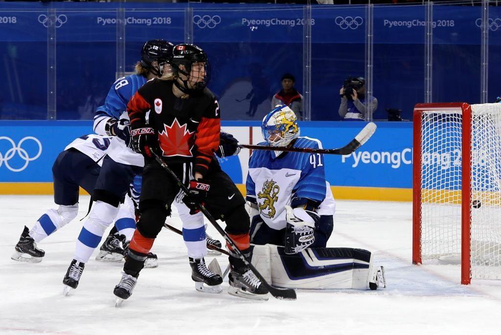 Les Canadiennes signent une victoire peu convaincante de 4-1 face à la Finlande